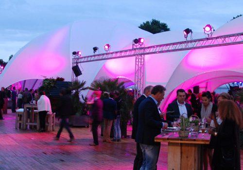 Alquiler y venta de carpas para eventos en Back Stage Marketing