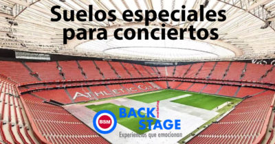 Suelos especiales para conciertos por BackStage Marketing