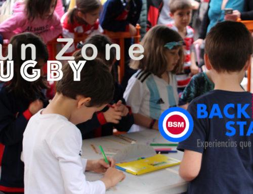 Fun Zone en las Finales de Rugby en Bilbao con actividades para niños