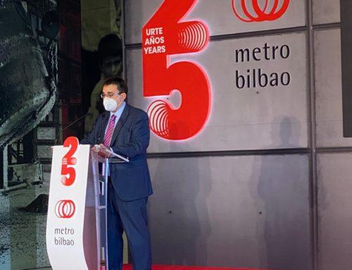 El 25 aniversario del metro de Bilbao